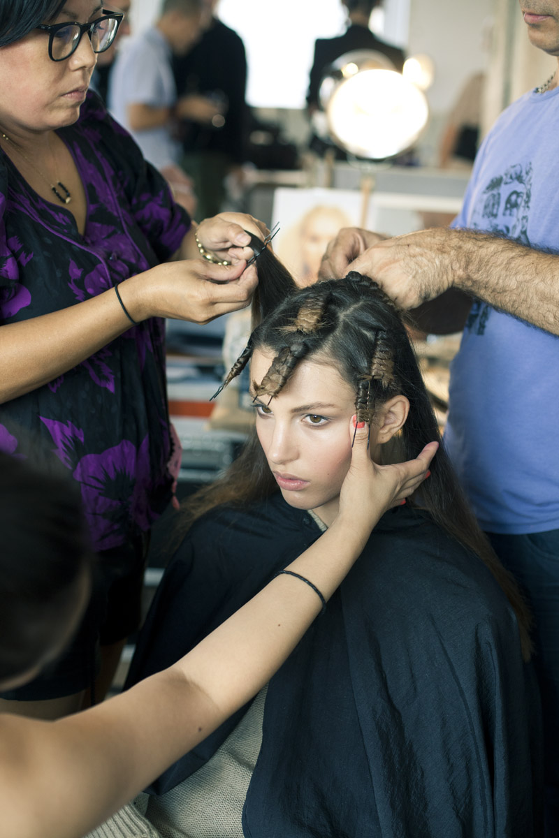 на волос шпильку накрученных фото