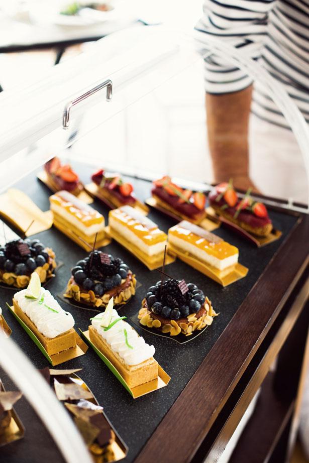 Dessert at Eden Roc
