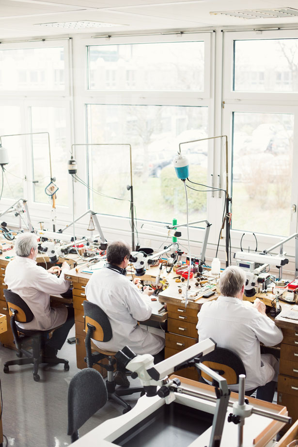 Chopard workshop