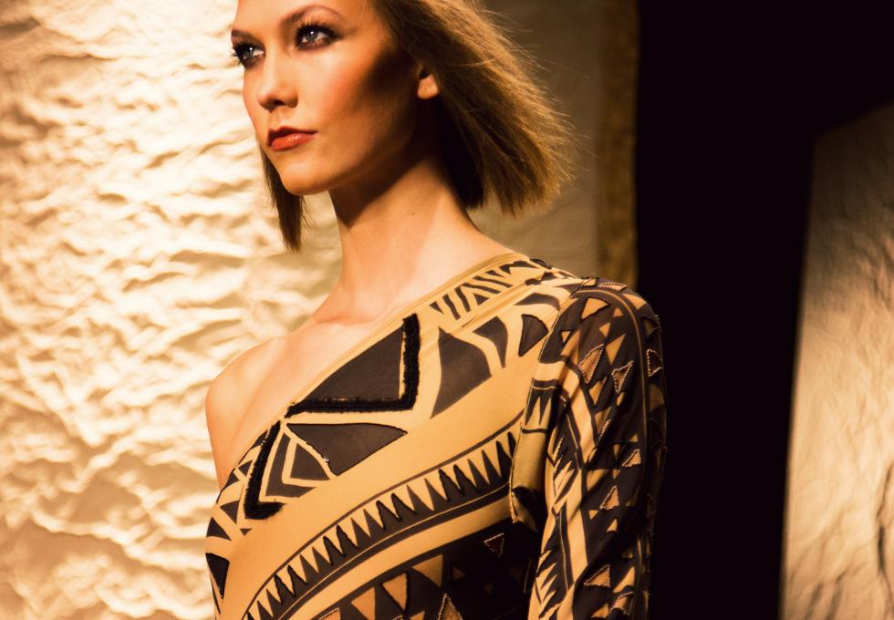 Donna Karan Spring / Summer 2014 collection shown at New York Fashion Week