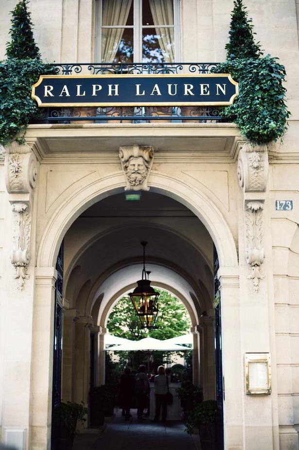 Ralph lauren paris ann street studio - Ralph lauren restaurant paris ...