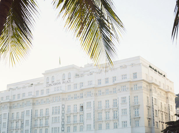 A look at the famous Copacabana Palace in Rio de Janerio