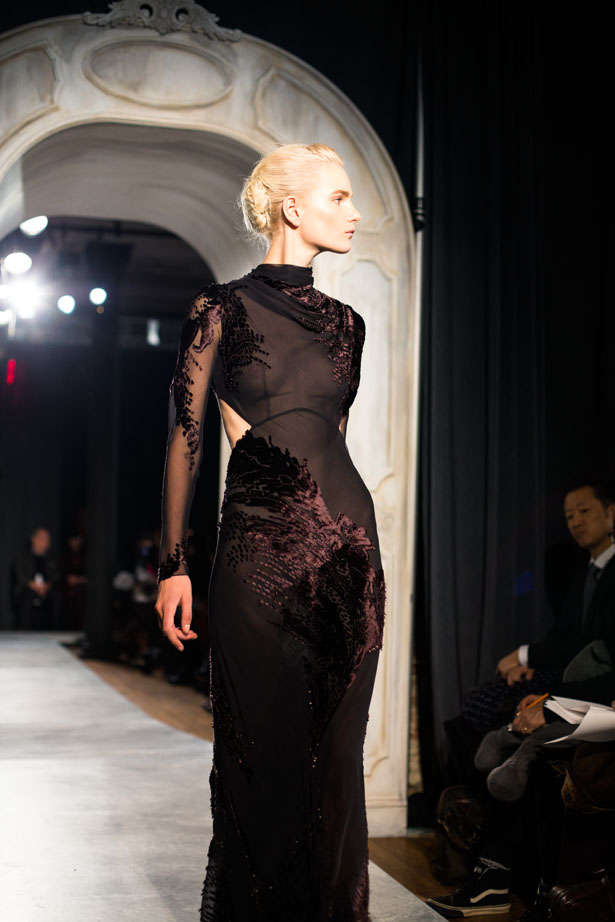 New York fashion designer Jason Wu shows his fall / winter 2014 collection