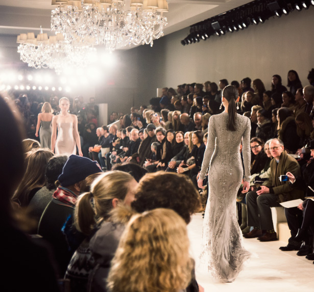 Ralph Lauren shows his fall 2014 collection at New York Fashion Week