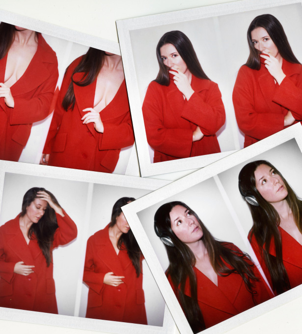 A collection of photographs by photographer Jamie Beck based on the color RED.