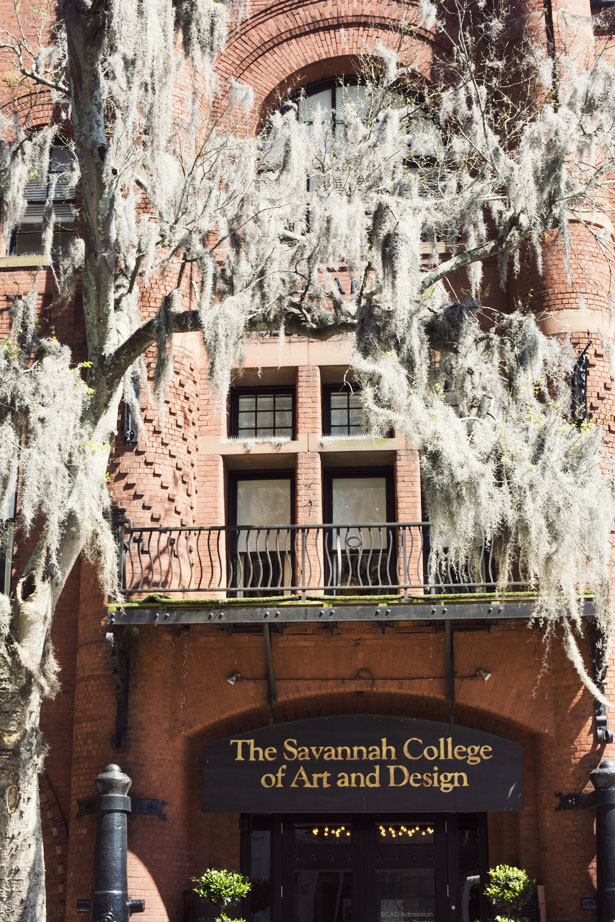 The Savannah College of Art and Design photographed by Jamie Beck