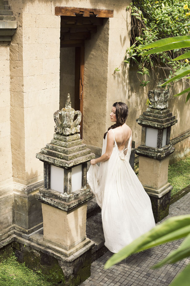 Photographer Jamie Beck visits the resort Amandari in Ubud, Bali on vacation.