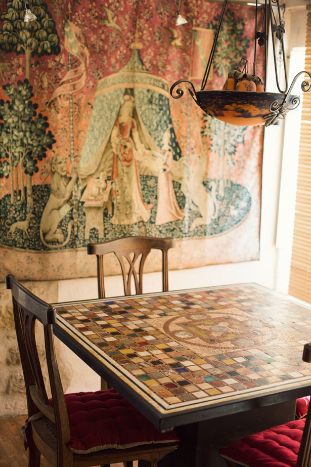 Inside the Provence, France mosaic artist studio of Jean Pierre Soulhat
