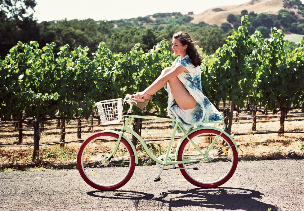 A honeymoon trip through Napa valley