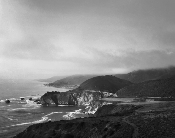 California's Big Sur, a sceneic drive along the pacific coast highway
