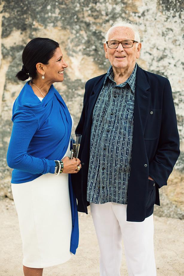 Pierre Cardin in Lacoste, France