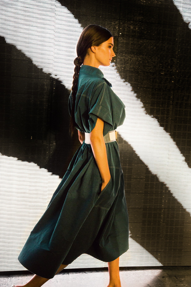 Donna Karan's Spring / Summer 2014 collection