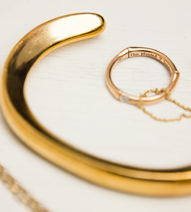 a look at the special pieces of gold jewelry I wear and why