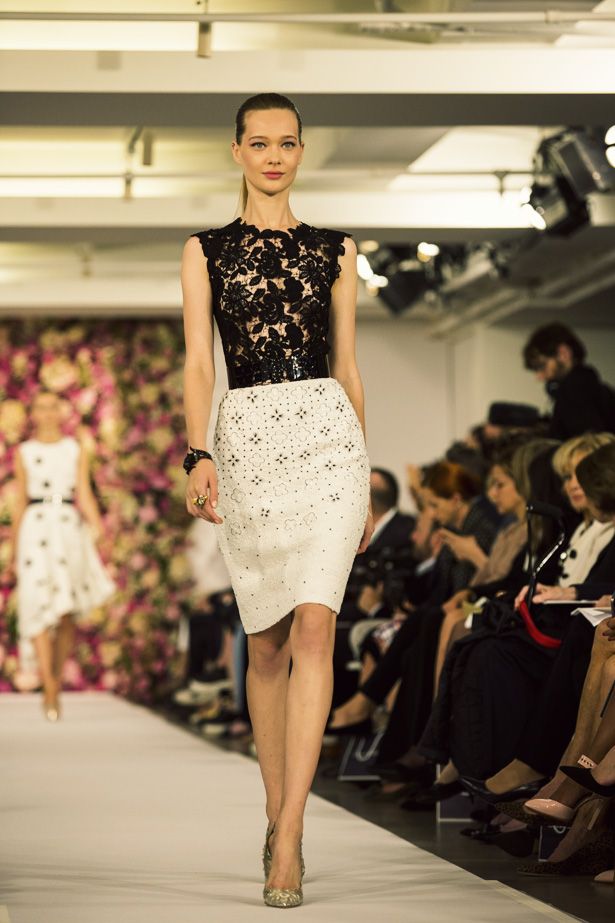 Oscar de la Renta's Spring / Summer 2015 collection