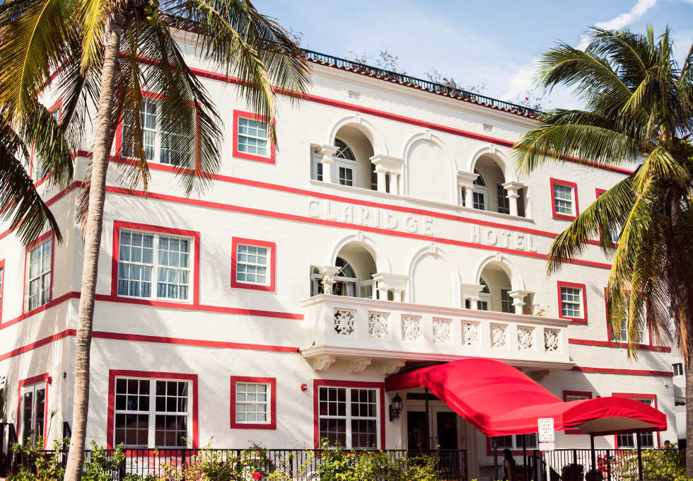A stay at the Casa Claridge Hotel on Miami Beach durning Art Basel