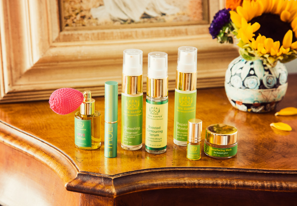 Trying the all natural beauty line Tata Harper