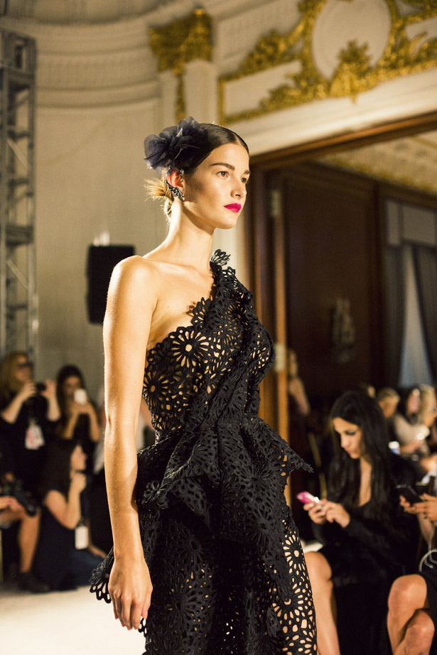 Marchesa Spring / Summer 2016 collection at the St. Regis New York for NYFW.