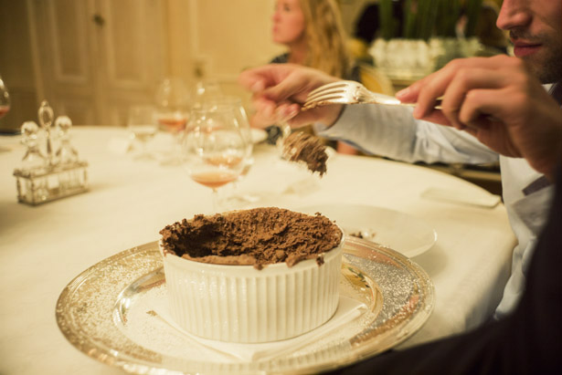 Dinner with Dom Pérignon in Hautvillers, France