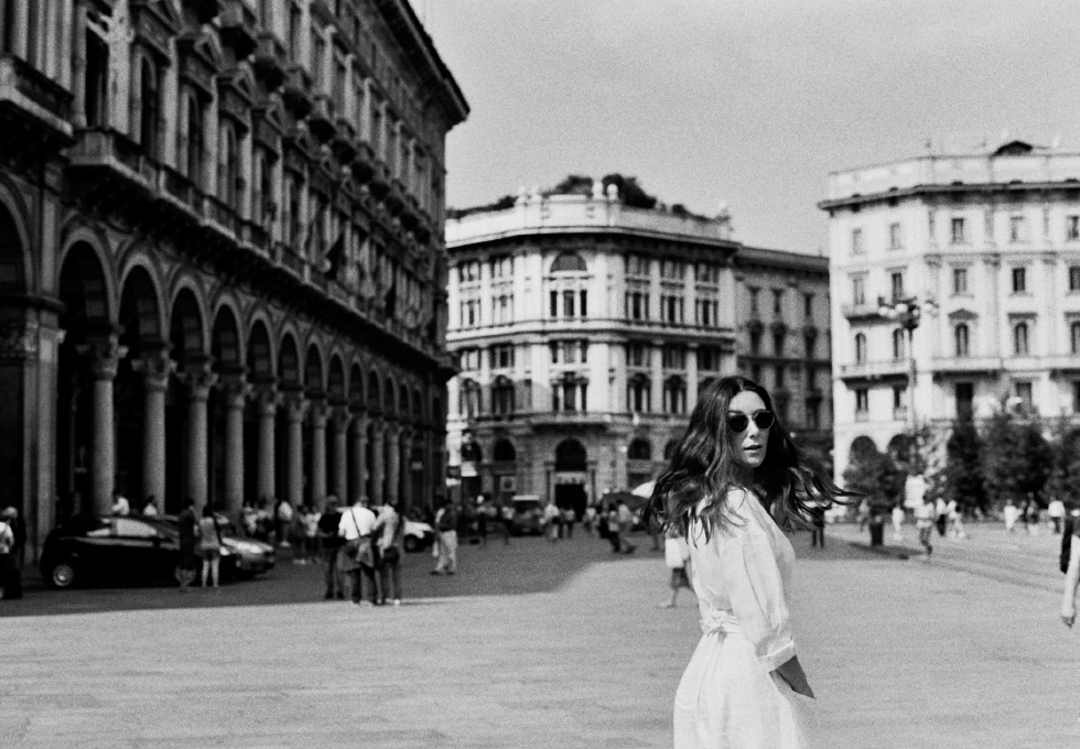 Photographer Jamie Beck explores Milan, Italy through the lens of an old Pentax 35mm film camera.