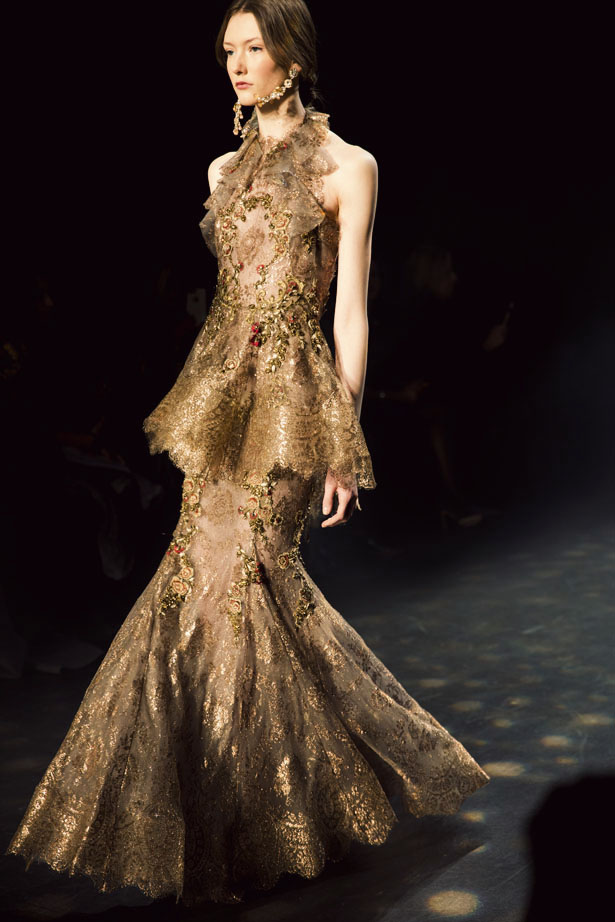 Marchesa Fall 2016 collection from New York Fashion Week