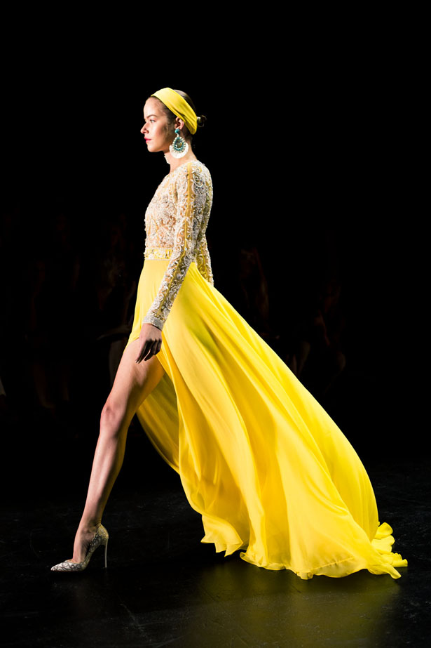 Naeem Khan Spring / Summer 2016 collection at New York Fashion Week