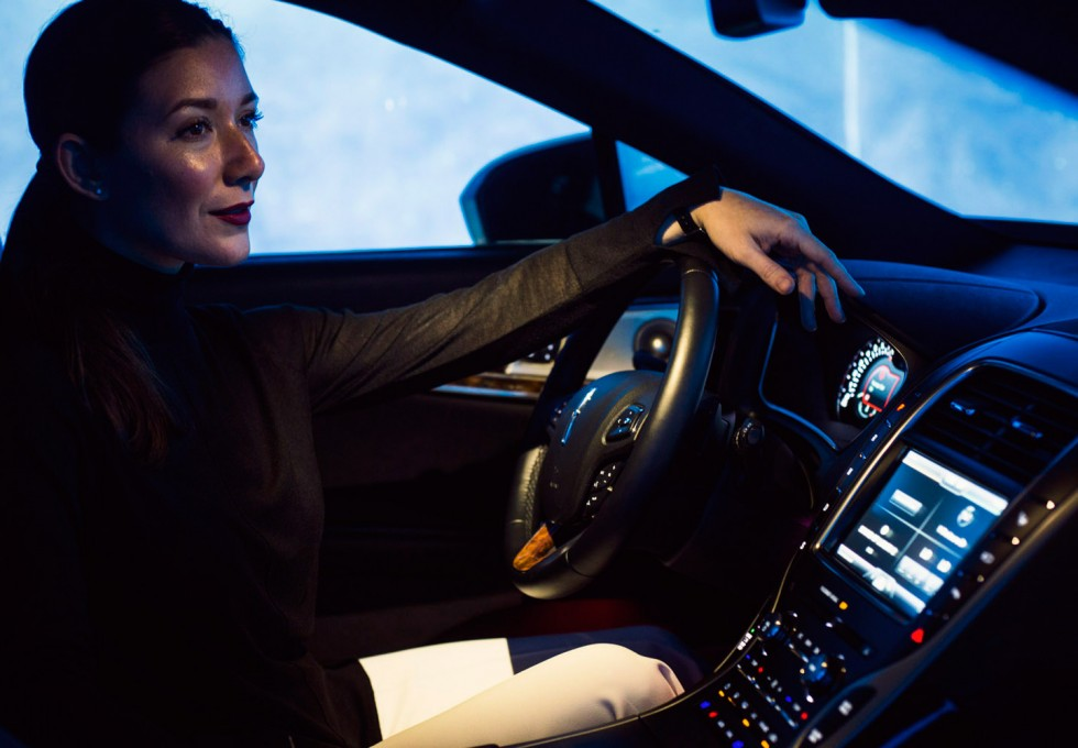 Lincoln Motor Company's Sound of Luxury pod experience showcasing their new REVEL sound system unlike no other in the industry.