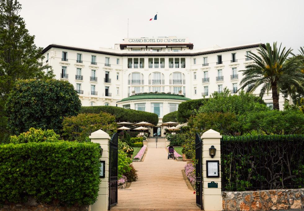 Grand-Hôtel du Cap-Ferrat, A Four Seasons Hotel on the Cote d'Azur in the South of France.