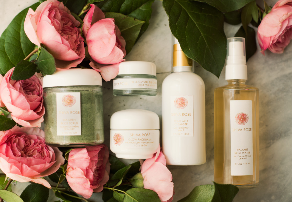 Shiva Rose's skin care line that is 100% toxic free and without any chemicals for a healthier life, made by hand in Los Angeles, CA