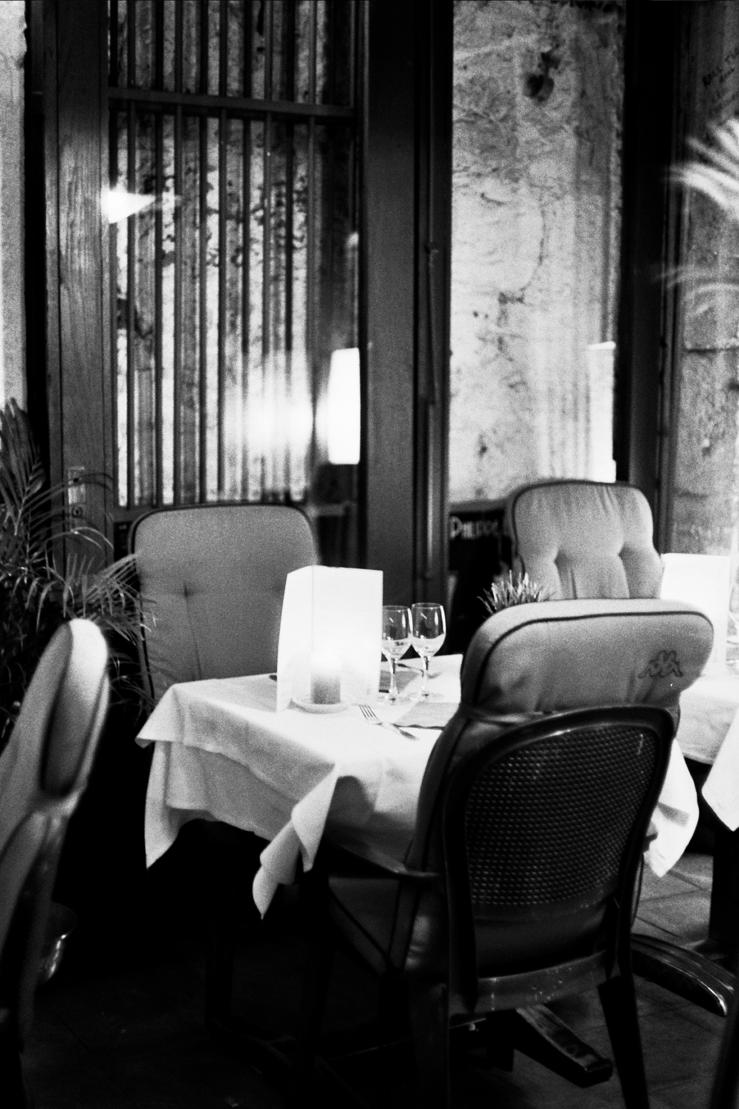 A black and white film story by photographer Jamie Beck of Paris in the Fall...