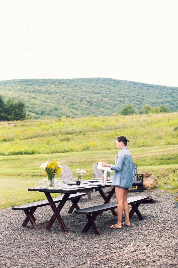A group of friends spend the weekend upstate in the Hudson Valley.