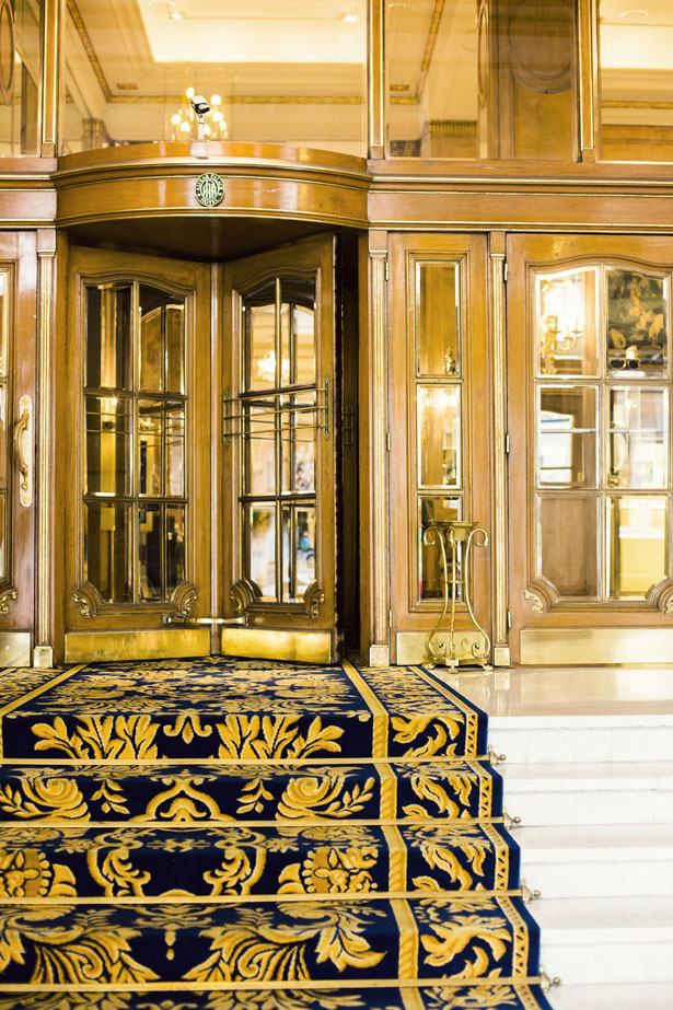 The historic Alvear Palace Hotel in Buenos Aires, Argentina